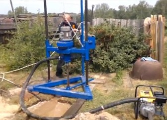 Автоматизированное бурение песчаных скважин