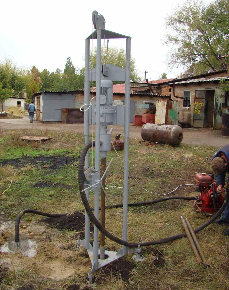 Технология бурения скважин на воду видео