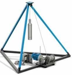 Для воды можно воспользоваться и приспособлением для бурения ударно-канатным методом