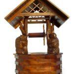 Делаем домик для колодца: процесс обустройства