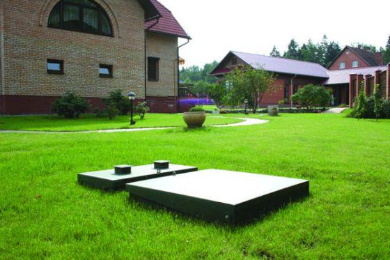Фото выгребной ямы во дворе