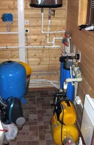 водоснабжения из колодца