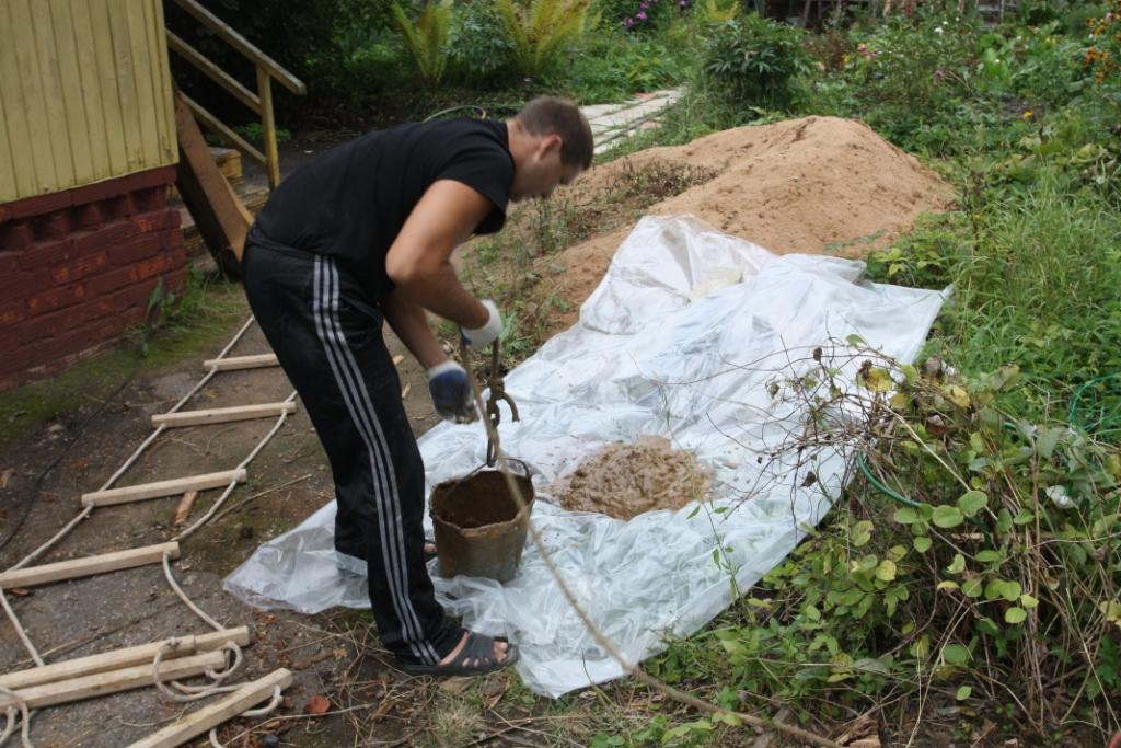 Очистка скважины от глины своими руками 39