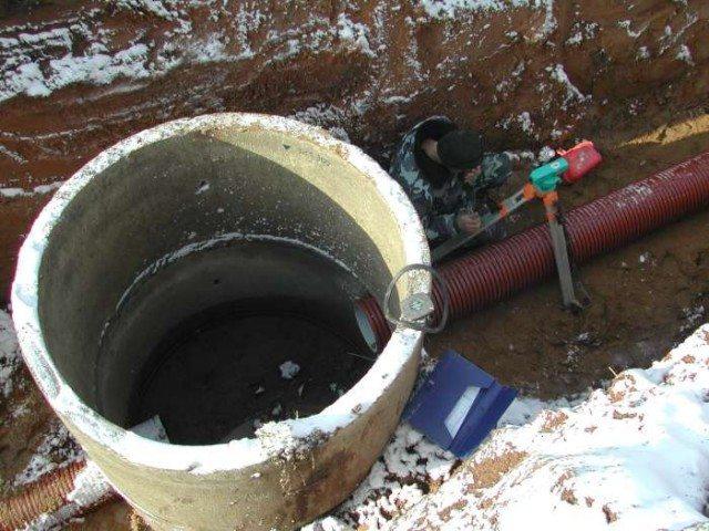 Колодец для ливневой канализации своими руками