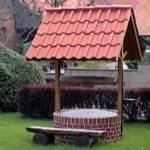 Крыша для колодца: делаем сами