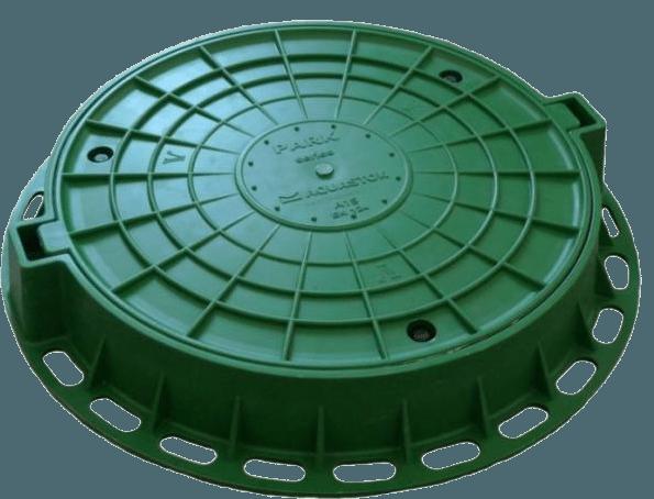 Люк из пластика – простое решение для вашего колодца