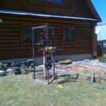 Малогабаритная установка для бурения скважин – особенности конструкции