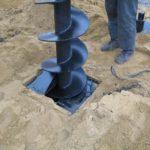 Как производится бурение скважин под фундамент