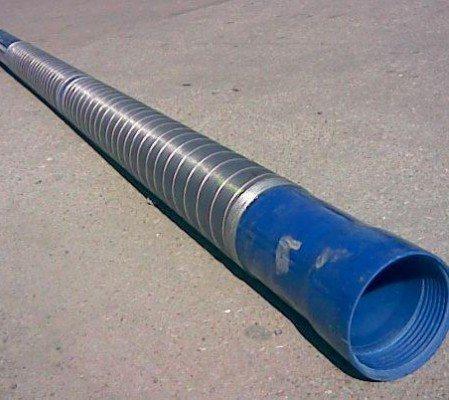 На фото - готовый фильтр с мелкой сеткой из пластиковой трубы