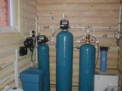 На фото – система водоочистки