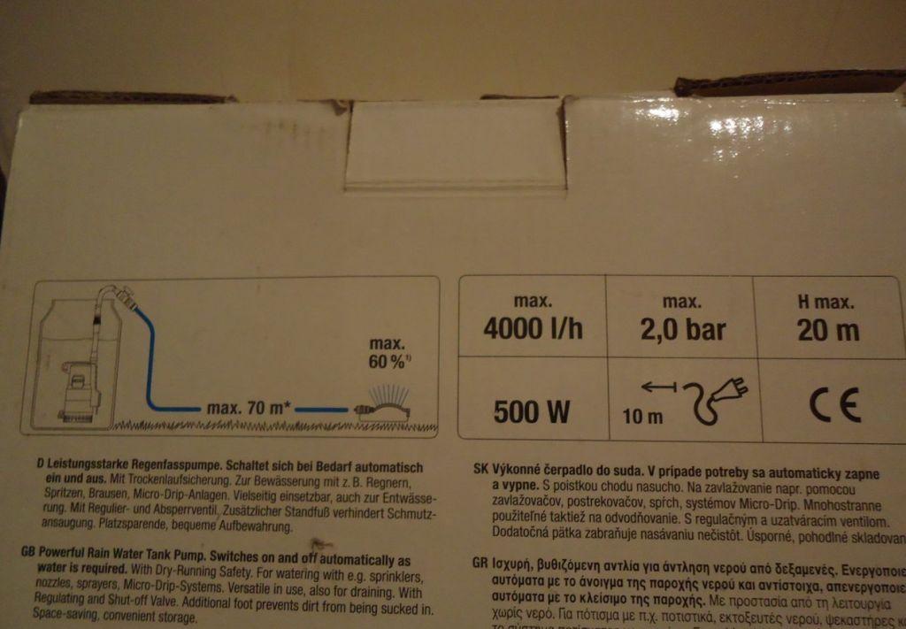 Обращайте внимание на маркировку агрегата, на ней указаны его основные характеристики.