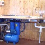 Организация водоснабжения водопровода из колодца в доме