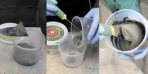 Подготовка гидропломбы