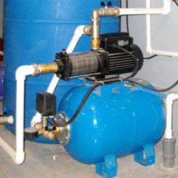 Подключаем внутренний водопровод.