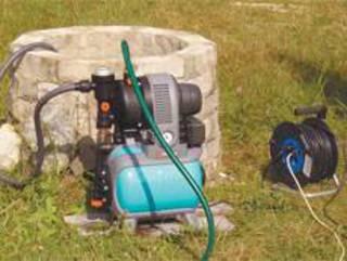 Подобный метод эксплуатации считается временным и требует дополнительной защиты не только для оборудования, но и самого колодца