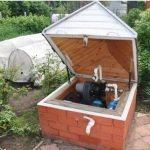 Пример оформления скважины на даче