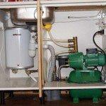Пример устройства водоснабжения дачного дома из скважины