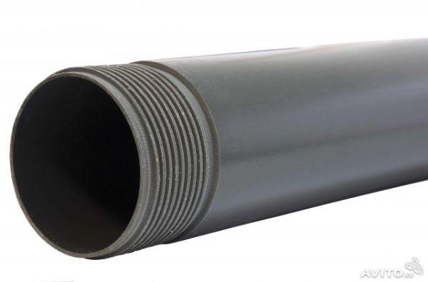 Приобретем пластиковую трубу для использования в грунте.