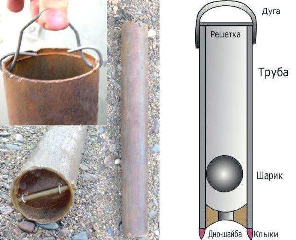 Продвинутое решение - желонка с шариковым клапаном. Она не даст снятым со стенок наростам упасть на дно скважины.