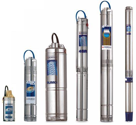 Размеры насоса для скважины нужно выбирать исходя из ее диаметра.