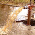 Почему из скважины идет ржавая вода: виды фильтров