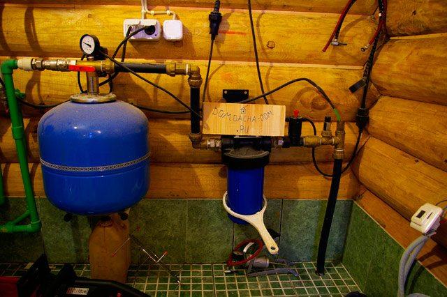 Система водоснабжения в доме
