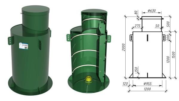 Структура металлического кессона