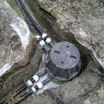 Телекоммуникационный кабельный колодец