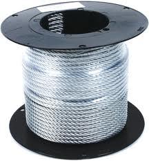 Трос из нержавеющей стали – идеальный вариант для крепления оборудования в скважине