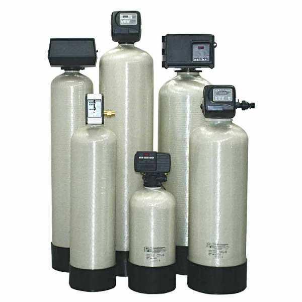 Угольные фильтры для механического очищения.
