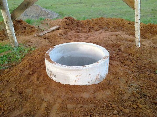 Вокруг объекта можно сделать глиняную подсыпку.