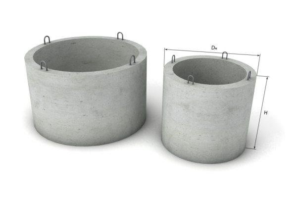 ЖБ кольца с петлями для монтажа