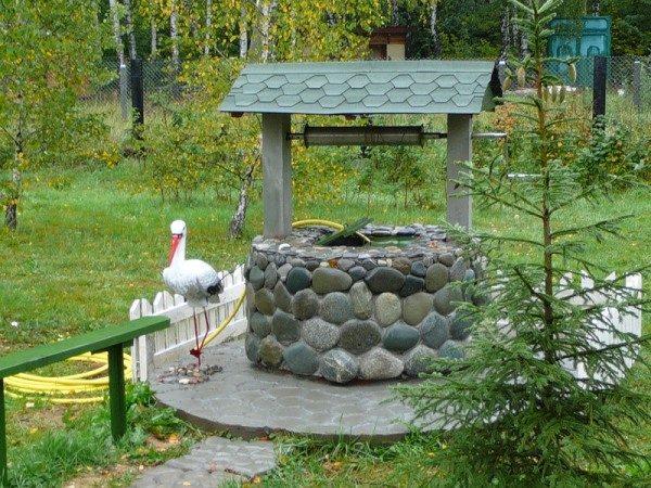 Декор, созданный при помощи камня