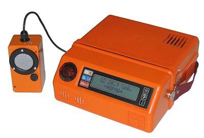 Для контроля загазованности используют портативные приборы.