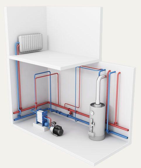 Дополнительно нужно поставить оборудование для горячего водоснабжения.