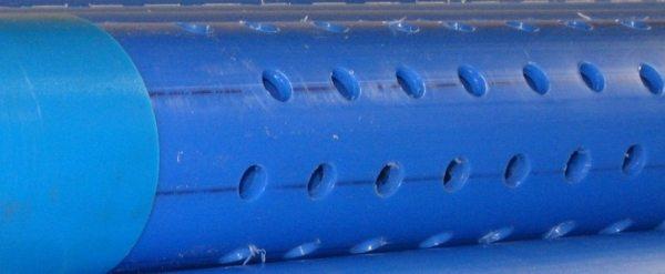Дырчатый водяной фильтр для скважины
