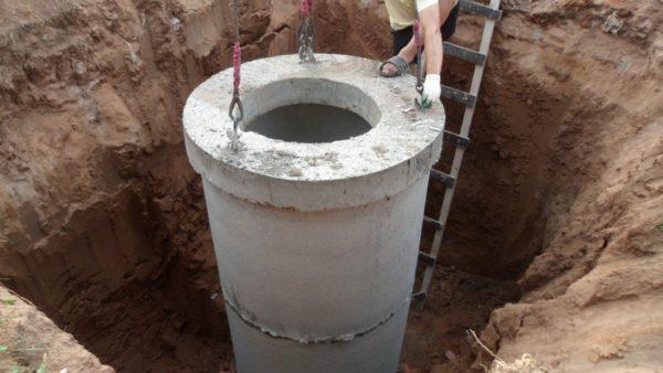 Ёмкость для утилизации жидких отходов можно построить самому