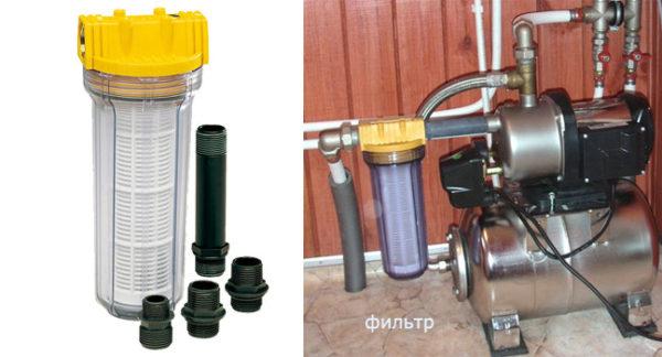 Фильтр для очистки воды из колодца