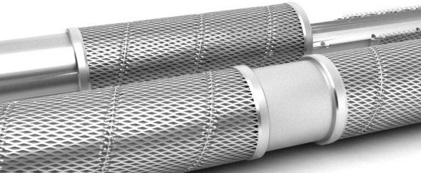 Фильтры для скважин сеточного типа