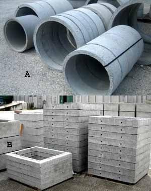 Форма люка определяется формой используемого при сооружении колодца корпуса (фото «А»)