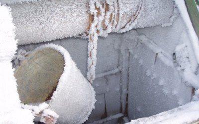 Фото замерзшего колодца