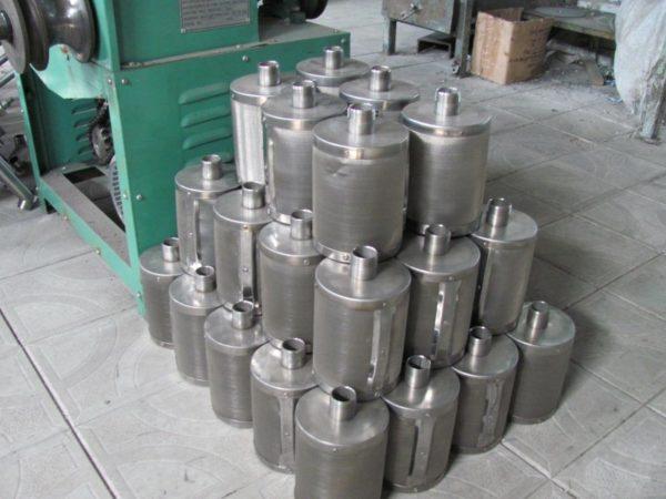 Фото заводских фильтров для колодца.