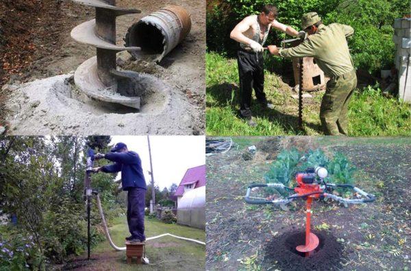 Источник воды, пробуренный ручным инструментом, делается не глубже 20-30 м