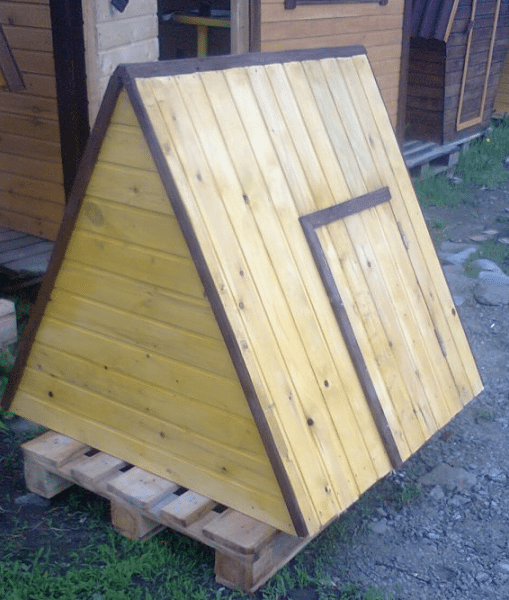 Изготовление крыши домика