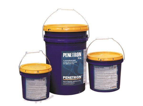 Качественная проникающая гидроизоляция — Penetron