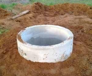Копка канализационных колодцев ничем не отличается от копки колодцев под воду, отсутствие же воды значительно упрощает весь процесс