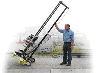 Малогабаритная бурильная машина для скважин на воду позволяет обойтись небольшими затратами.