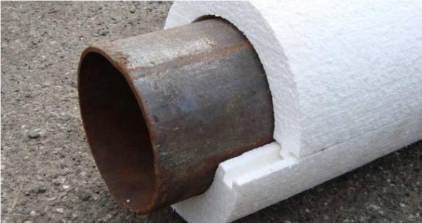На фото специальная штамповка, которая позволяет без труда укрывать цилиндрические изделия.