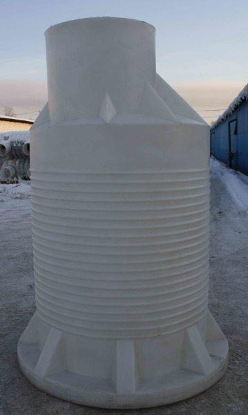 На фото видна гофрированная поверхность изделия. Таким образом, изготовитель обеспечивает максимум жесткости при минимальной толщине стенок.