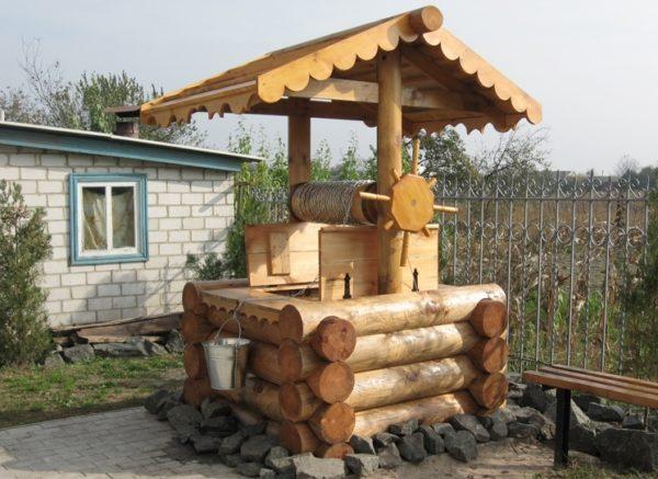 Натуральная древесина характерна для стиля кантри